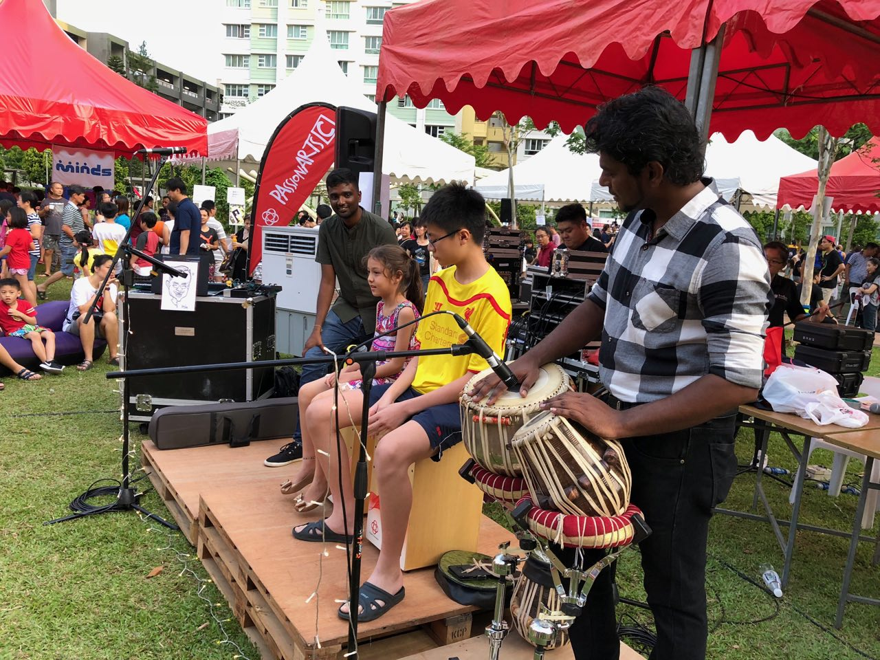 Indian Classical music band for community events